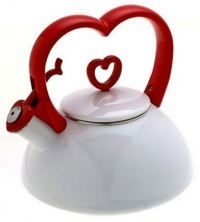 heart-shaped kettle